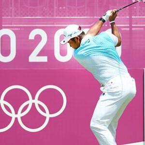 ゴルフ男子 松山 メダル獲得ならず