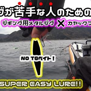 【簡単操作で釣れるメタルジグ】スーパーライトジギング