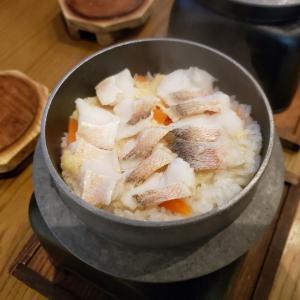 【激ウマ】自宅で釜飯セット使って甘鯛釜飯❗️