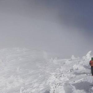 厳冬期西穂登山