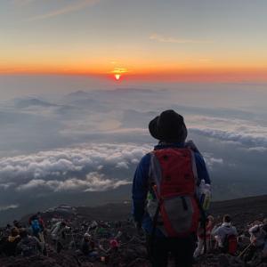 スマートウォッチ GARMIN instinct をつけて富士山登頂!