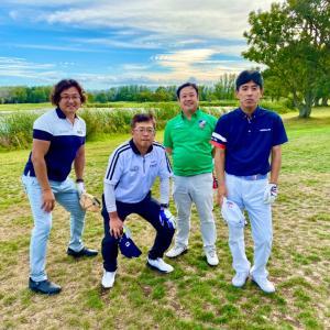 大学OBのゴルフコンペ