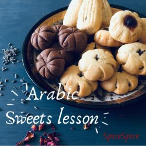 3/12★Arabic sweets lesson