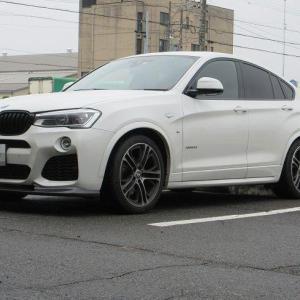 メンテナンスは大事...BMW X4 エンジンオイル交換 4CT-S