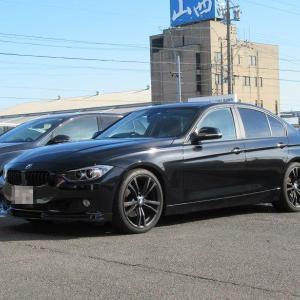 これもメンテナンス..BMW F30 320 エアコンフィルター+エヴィディス 車内の消臭