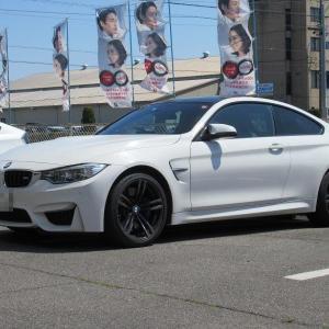 あると便利な..BMW M4 ユピテルドライブレコーダー&レーダー探知機+メンテ作業