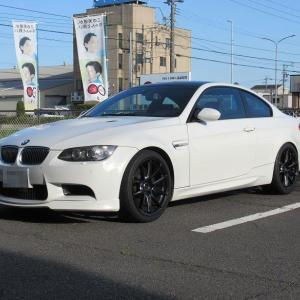 メンテナンスは大事..BMW E92 M3 エンジンオイル交換 NC50