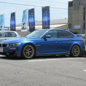 メンテナンスは大事...BMW F80 M3 エンジンオイル+エレメント交換 4CT-S