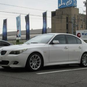 黒い悪魔にさようなら..BMW E60 525 ブレーキパッド交換 クランツ製ジガベーシック