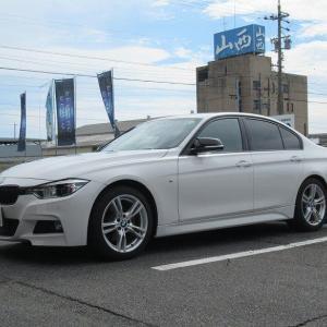マフラー交換..BMW F30 320 REMUS スポーツレーベル