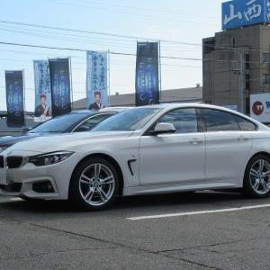 人気の補強パーツ..BMW F36 420 Cpm ロワレインフォースメント