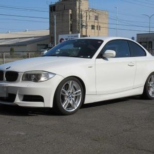 年末恒例..BMW E82 135 エンジンオイル交換 4CT-S