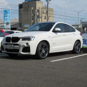 メンテナンスは大事..BMW X4 エンジンオイル+エレメント交換 4CT-S