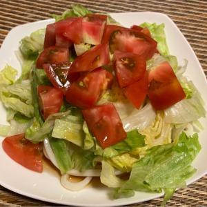 ぶっかけサラダうどん 大好き۹(๛ ˘ ³˘)۶❤すき