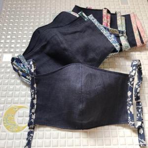 【本日入荷‼】夏用リネンマスク 6/21 20時~販売始めます♪