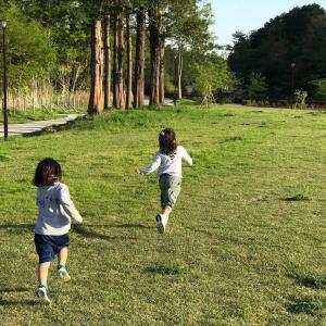 公園遊び〜♪