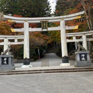 三峯神社参拝