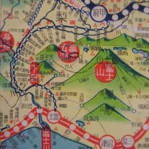 昭和9年鉄道路線図・サムネイル版18=山梨