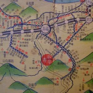 昭和9年鉄道路線図・サムネイル版25=福井