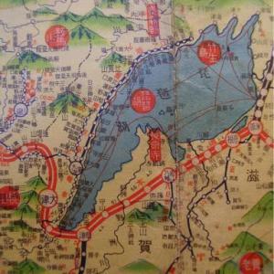 昭和9年鉄道路線図・サムネイル版26=滋賀