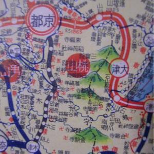 昭和9年鉄道路線図・サムネイル版27=京都