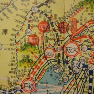 昭和9年鉄道路線図・サムネイル版31=兵庫