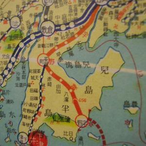 昭和9年鉄道路線図・サムネイル版32=岡山
