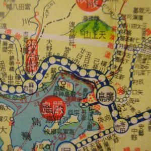 昭和9年鉄道路線図・サムネイル版33=広島