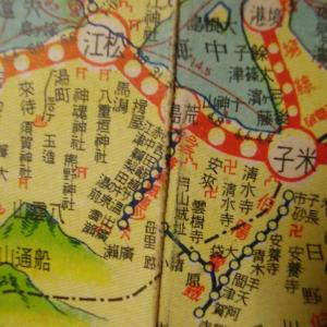 昭和9年鉄道路線図・サムネイル版35=島根