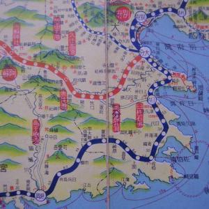 昭和9年鉄道路線図・サムネイル版45=大分