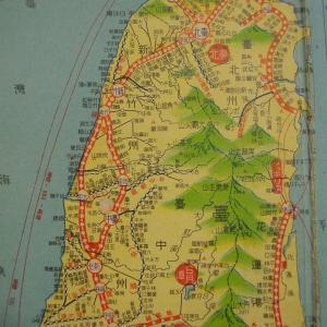 昭和9年鉄道路線図・サムネイル版49=台湾