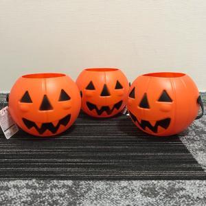 100均かぼちゃバケツ!3コじゃ足りない⁉︎
