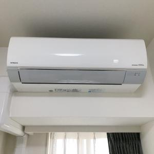 お家時間で久々のエアコン掃除