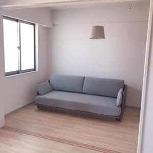 ニトリのシンプルソファーベッド