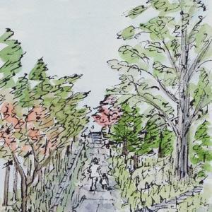 晩秋の天神山公園(2)