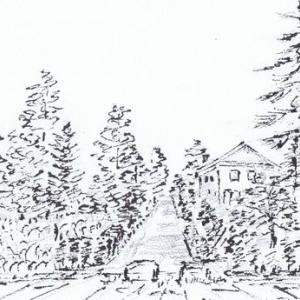 4ヶ所のペン画