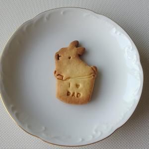 父の日プレゼントのクッキー