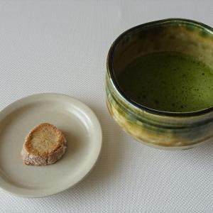 サブレとお抹茶