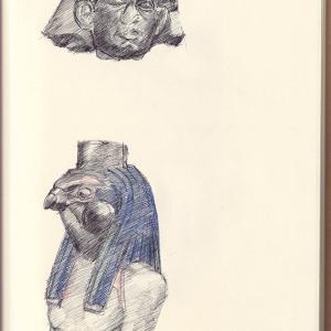 エジプト美術 VII ーセンウセレトIII ・ ホルス神ー  Egyptian Art VII -Senusret III ・ Horus-