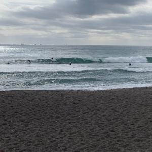 やっぱりな時間に波がでた♫冬の到来を感じる今日この頃。