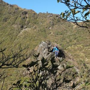 由布岳登山(南登山口からお鉢廻り)