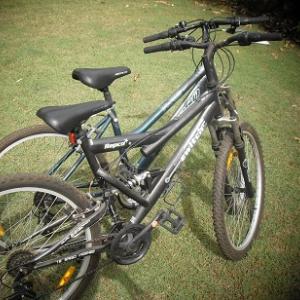 もらった古い自転車を復活させた