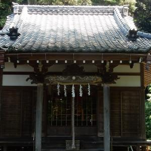 妙本寺の蛇苦止明神