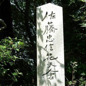 佐藤忠信花矢倉と横川覚範の墓~吉野山~