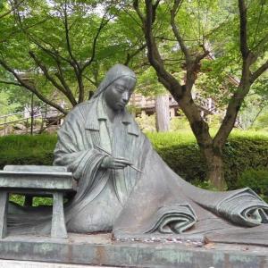 石山寺で『源氏物語』を起筆した紫式部
