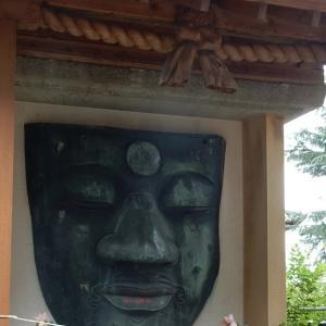 お顔だけになってしまった上野の大仏さま