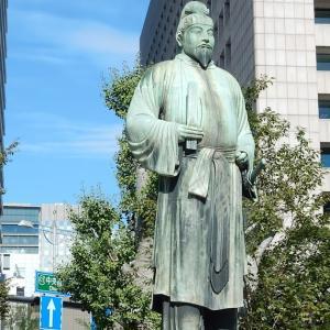和気清麻呂の銅像~東京大手町~