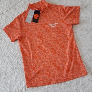 花柄モックシャツ