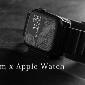 チタン x Apple Watch  究極のカスタムパーツ「チタン製バンド」