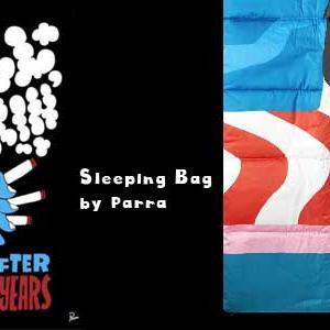 らしさ全開 インパクト大! 「Parra 個性派寝袋」
